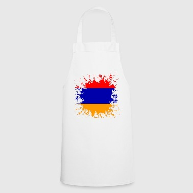 Arménie drapeau d'Arménie Հայաստան Splash - Tablier de cuisine