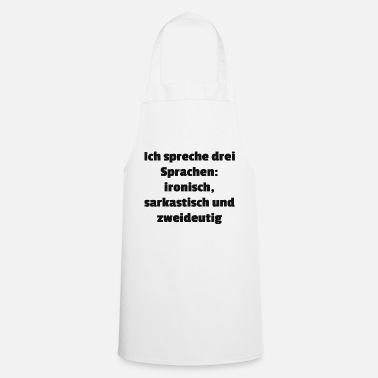 Language languages - Cooking Apron