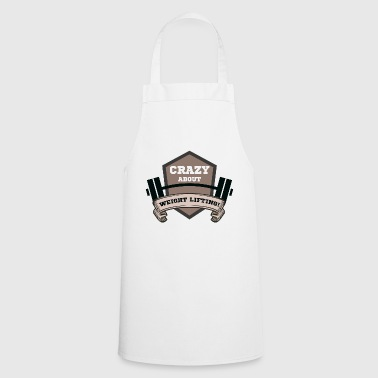 lift weights - Cooking Apron