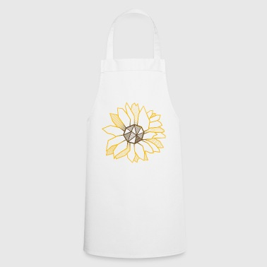 Sunflower geometric flower gift garden cool - Cooking Apron