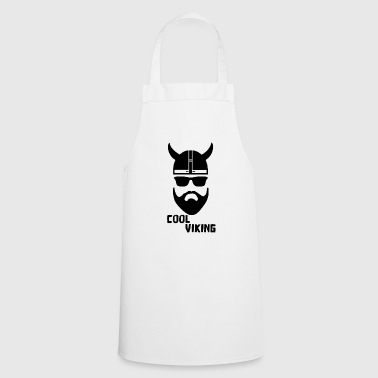 Cool Viking beard beards Scandinavia - Cooking Apron