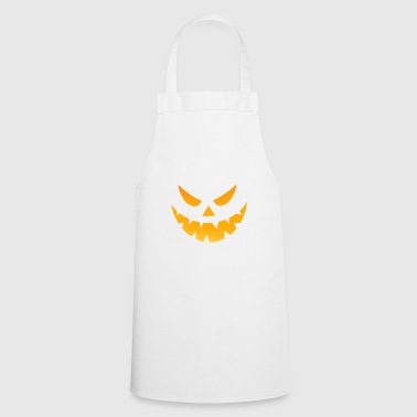 Halloween scary face angry - Cooking Apron