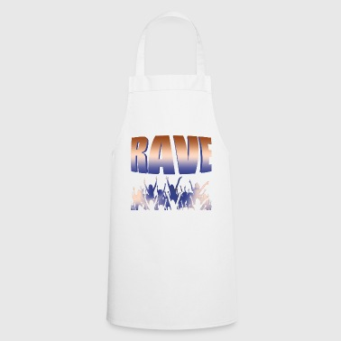 Techno Raver Raver Electric DJ - Delantal de cocina