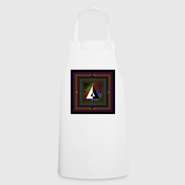 Color square with lines - Cooking Apron
