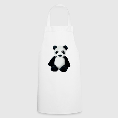 Panda assis - Tablier de cuisine