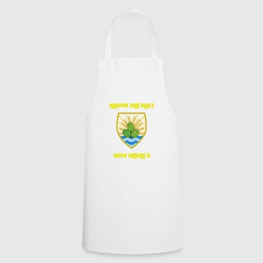 Hops and Malts Gott abhalt's - Bierwappen Brauen - Cooking Apron