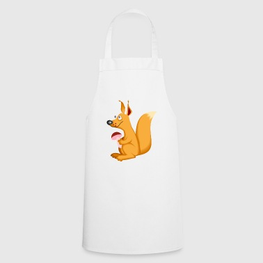 Eichhoernchen mushroom cute kids gift animals - Cooking Apron