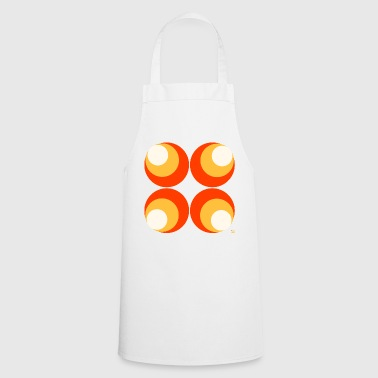 70s wallpaper pattern - Cooking Apron