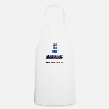 Boss boss - Cooking Apron
