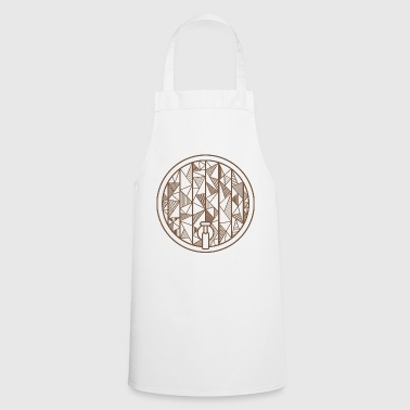 Oktoberfest beer keg geometric gift beer - Cooking Apron