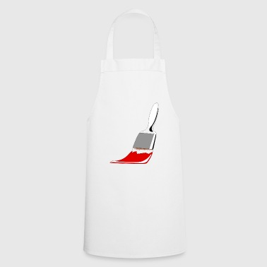 Brush gift idea idea idea - Cooking Apron
