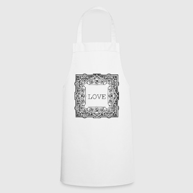 Frame love frame - Cooking Apron