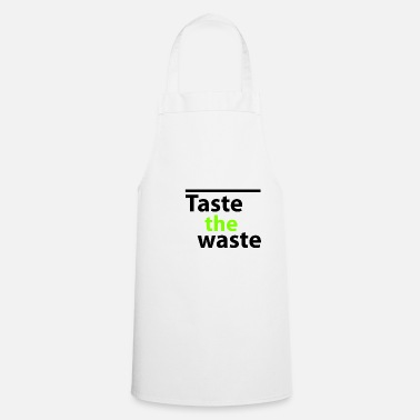 Key Button Button The Waste - Cooking Apron