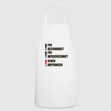 against vaccinations - Cooking Apron