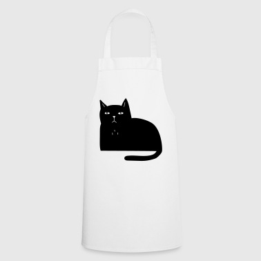 Nasty cat, cool gift for cat friends - Cooking Apron