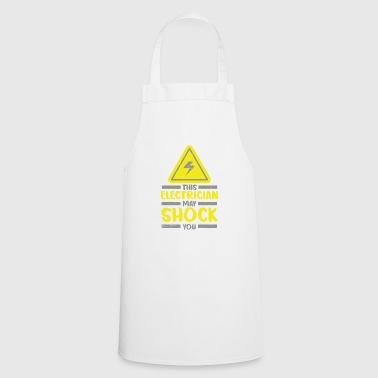 Electrician electricity funny craft boss gift - Cooking Apron
