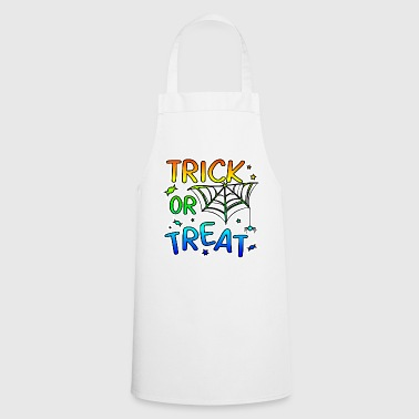 Trick or treat Halloween trick or treat - Cooking Apron