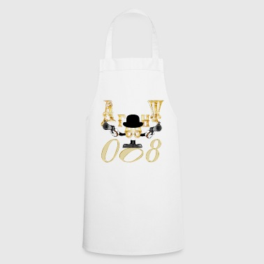 Russian. Agent 008 gift idea birthday Агент - Cooking Apron