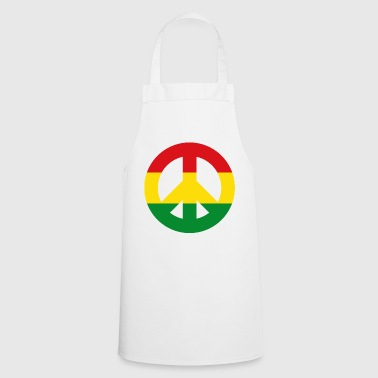 Peace Sign Reggae - Cooking Apron