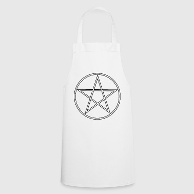 Wicca Pentagram witch Wicca Gothik - Cooking Apron