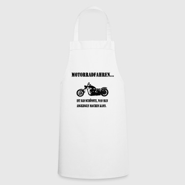 Motorcycling - Cooking Apron