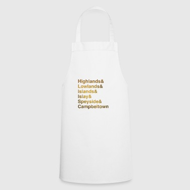 Region Whisky Regions - Cooking Apron