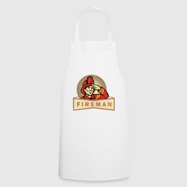 Firefighters man THW police save gift idea - Cooking Apron