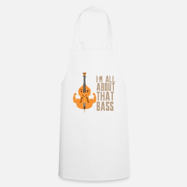 Double Bass Double Bass Bass Gift idea - Cooking Apron