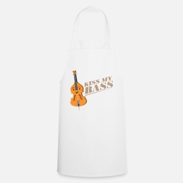 Double Bass Double Bass Stringed Instrument Gift Idea - Cooking Apron