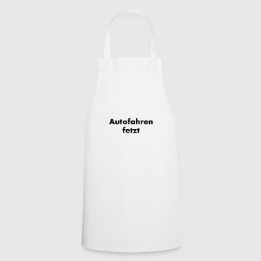 Driving a car - Cooking Apron