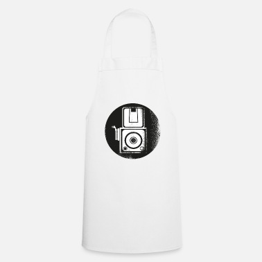 Stencil Camera photographer Stencil gift - Cooking Apron