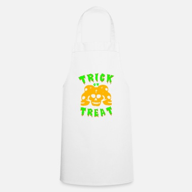 Trick Or Treat Trick or treating! Trick or treat! - Cooking Apron