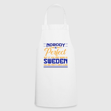Sweden country Viking flag Scandinavia - Cooking Apron
