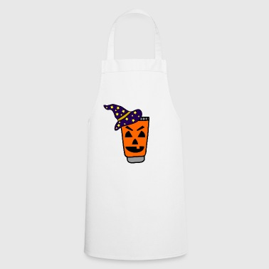 Toothpaste Toothpaste witch halloween pumpkins - Cooking Apron