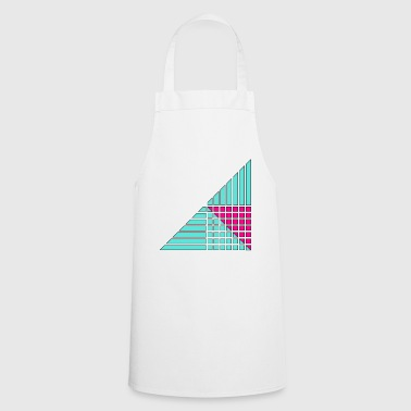 lines and squares decor decor - Cooking Apron