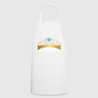 60th Birthday: The Queen Is 60! - Cooking Apron