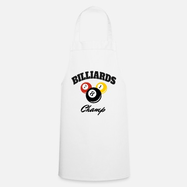 Champ Champion Billard Champ Pro Champion - Bon joueur - Tablier de cuisine