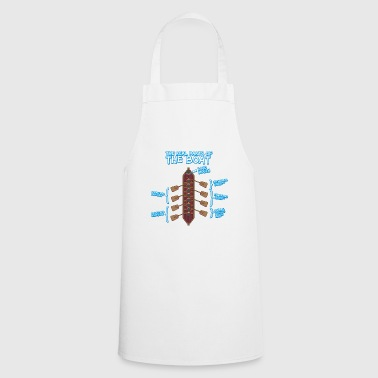 Boat Anatomy of a Rowing Boat - Rowing Rowing Canoe SUP - Cooking Apron