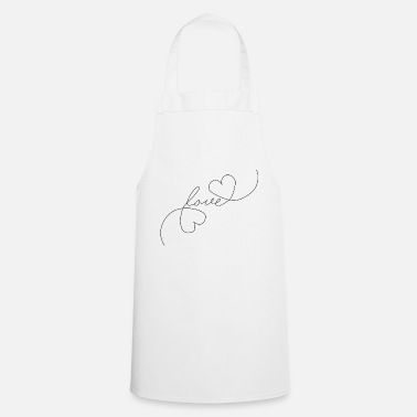 Tlc Heart Love - Oneline - Cooking Apron