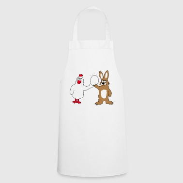 Chicken & Bunny | Easter | Easter time Easter bunny - Cooking Apron