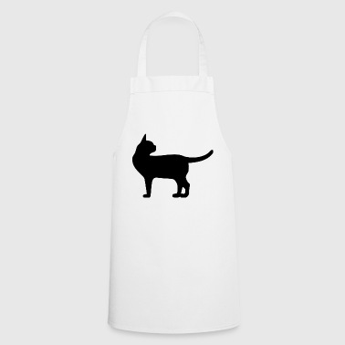 standing cat - Cooking Apron