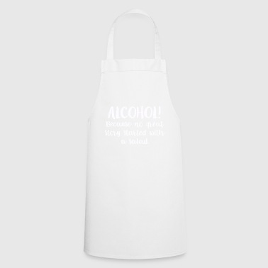 Alcohol beer bachelor gift liquor - Cooking Apron