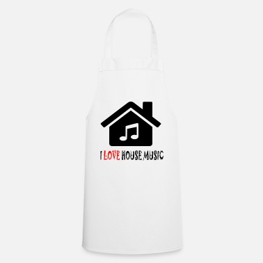 House House Music House Party Shirt - Forklæde