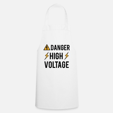 High Voltage Electrician: Danger! High Voltage! - Cooking Apron