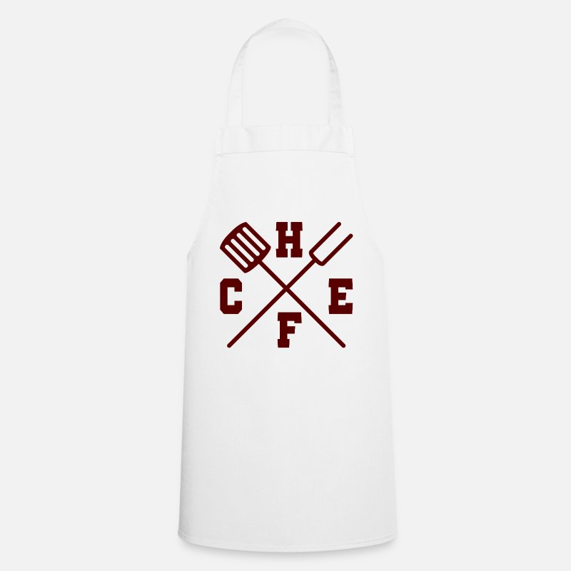 Boss Aprons - Chef / Chef Cook: Chef - Apron white