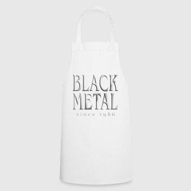 Black Metal Black Metal T-Shirt - Cooking Apron