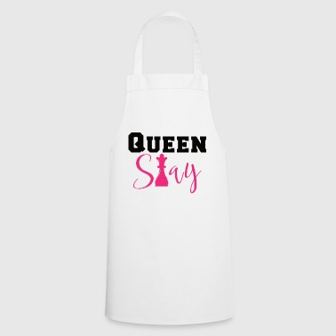 QUEEN SLAY - Camiseta de ajedrez - Idea de regalo - Delantal de cocina