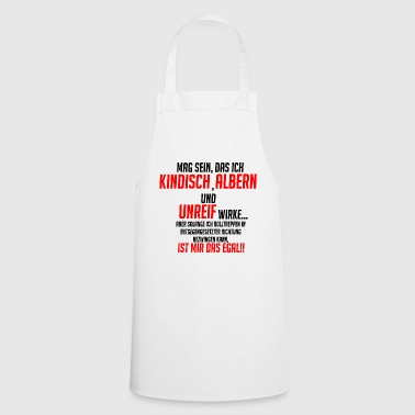 funny saying !! - Cooking Apron