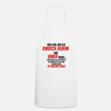 Funny funny saying !! - Cooking Apron