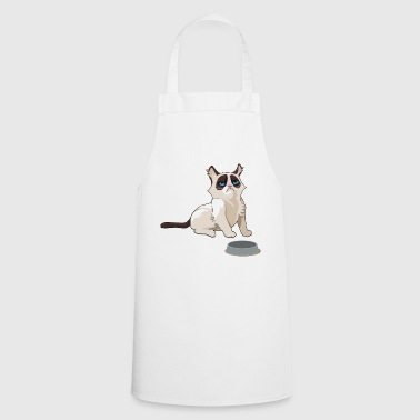 grumpy cat / grumpy cat - Cooking Apron